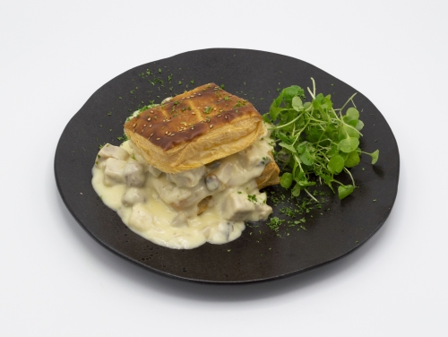 VOL AU VENT WITH CHICKEN